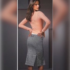 Body by Victoria Tweed Pencil Skirt